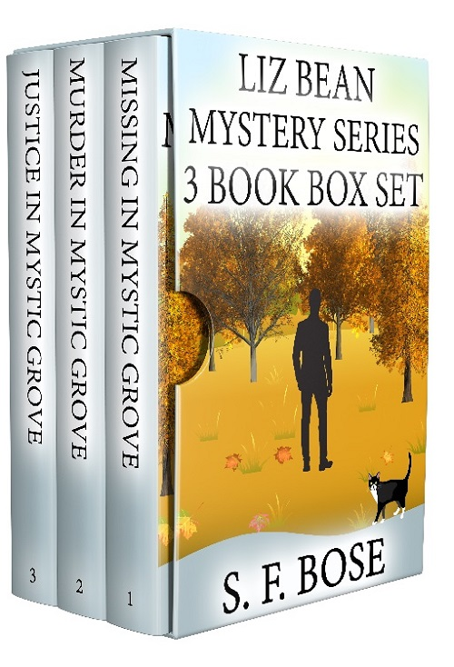 Liz Bean Cozy Mystery Series: Books 1-3